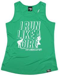 Birthday Vest Design Details About I Run Like A Girl Bold Design Womens Dry Fit Vest Singlet Birthday Gift Running