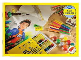 navneet yellow drawing book soft bound
