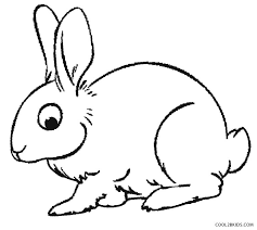 amazing coloring picture of a rabbit printable pages for kids cool2bkids bunny jack book