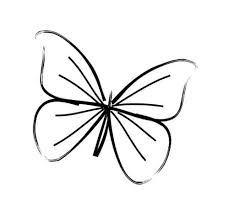 Small Picture Best 25 Simple butterfly drawing ideas on Pinterest Easy
