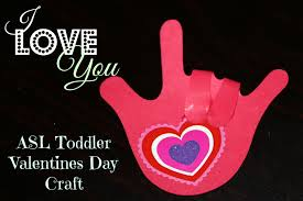 I Love You Crafts I Love You Hand Valentines Day Craft