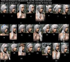 Skyrim Hair Style Mod beautiful hair retexture at skyrim nexus mods and munity 5194 by wearticles.com
