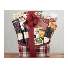 napa valley wine basket