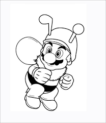 It's time for you to color mario and his friends: Mario Coloring Pages Free Coloring Pages Free Premium Templates