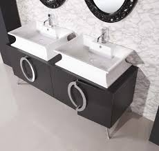Double Bathroom Sinks Modern Bathroom Sink Bathroom Extensive Curved White Trough Sink