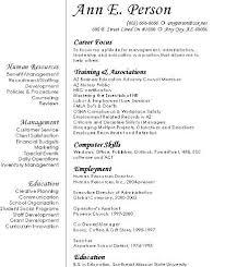 Resume Format For Career Change Career Change Resume Samples Free Resumes Tips 14