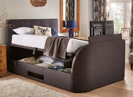 stylish tv beds with led flat screens in all bed sizes  dreams