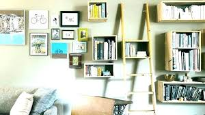 pottery barn wall shelves studio look alike shelf installation mounted bookshelves