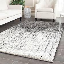 safavieh retro modern abstract black light grey rug 6 x 9 within 12 decorations 11