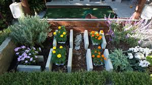 garden blocks. Making Raised Beds With Concrete Blocks. Garden Blocks