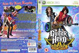 Guitar Hero Aerosmith Dvd Uk Pal Custom F Xbox Covers