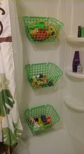 bathtub toy storage ideas
