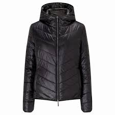 boss orange otarra quilted coat short long sleeve