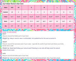 Lilly Pulitzer Size Chart Dresses Lilly Pulitzer Size Chart Women Splash Of Pink