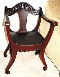 Curved Bottom Chair Carved Apron Collectors Weekly