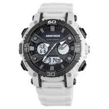 armitron® sport men s chronograph strap watch white target armitron® sport men s chronograph strap watch white