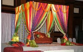 Indian Bedroom Decor Wedding Room Decoration Ideas Also Indian Bedroom Interallecom