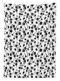 Amazonhouse Decor テーブルクロス 花模様 花の模様 シンプルな