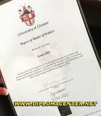 Sample Degree Certificates Of Universities University Of Chester Degree Certificate University Of