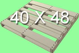 standard pallet size in inches. standard pallet size 40x48 in inches e