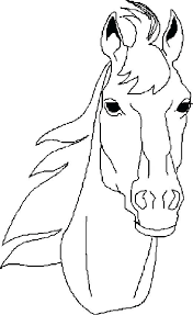 Horse Coloring Pages Printable Race Horse Coloring Pages Horse Horse