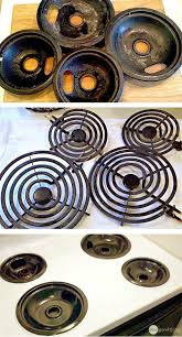 stove cleaner. this is the easiest way to clean your stove burners cleaner