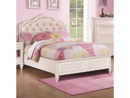 Caroline Full Size Bed with Diamond Tufted Headboard by Coaster at Dunk & Bright Furniture