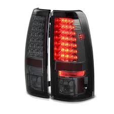 1999-2002 Chevy Silverado / 1999-2003 GMC Sierra LED Tail Lights ...