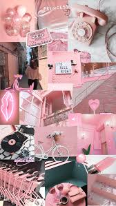 Pastel Aesthetic Collage Wallpaper ...