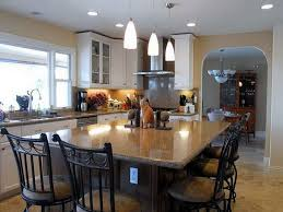 elegant kitchen island dining table and 64 best with regard to islands designs inspirations 10