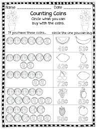 Recognizing Money Worksheets For Preschool And Kindergarten ...