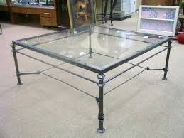 glass and wrought iron coffee tables black wrought iron coffee table with glass top awesome coffee