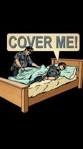 black beds police cover joke wallpaper 31863