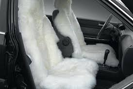 car seats custom sheepskin car seat covers genuine universal fit white auto