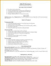 Skills For Resumes Professional Skills For Resume Sample Resume