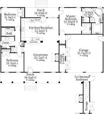 images about Cute Houses on Pinterest   House plans  Little     sq ft open floor plans   Google Search