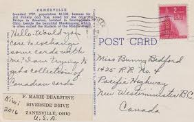 Letter Greetings Cool Greetings From ZanesvilleOhio Large Letter Linen Postcard