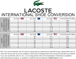 Lacoste Size Chart Lacoste Tee Shirt Size Guide Coolmine Community School