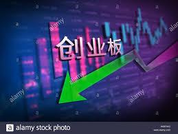 Financial Stock Market Data Chart Stock Photo 258594320 Alamy