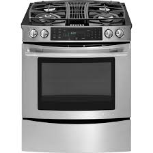 gas cooktop with downdraft. Interesting Downdraft JGS9900CDS Slide In Gas Downdraft Range With Convection 30 Throughout  Ranges Decor 0 Cooktop
