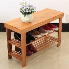 wooden shoe rack bamboo wooden shoe rack with seat bench and storage