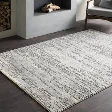 cream and grey area rug
