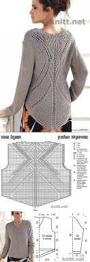 вязание | Бесплатные узоры для вязания, Выкройки для пончо и ...
