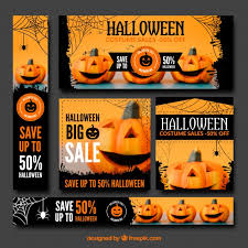 halloween sale flyer collection of halloween sale banner vector free download