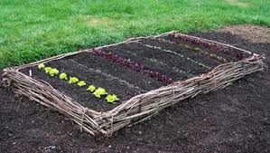how to make raised garden beds. Wattle Raised Bed How To Make Garden Beds