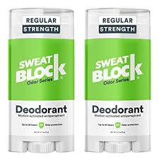 SweatBlock Deodorant & Antiperspirant Solid for Men ... - Amazon.com
