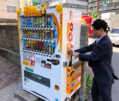 How To Get Free Drinks From Vending Machine New More Vending Machines Offer Free Umbrellas For Emergencies:The