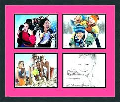 collage frame 8x10 openings collage frame for 4 pictures 4 collage picture frame collage frame for