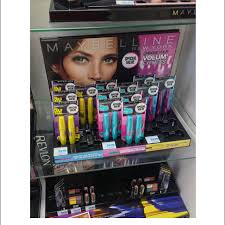 Maybelline Display Stands