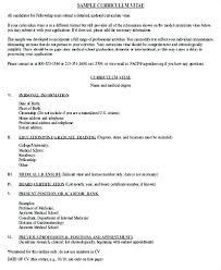 Modelo De Curriculum Vitae En Word Curriculum Vitae De Harvard Dokohoru Info